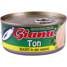 Ton in ulei conserva Gianna
